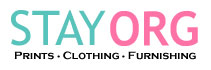 STAYORG - prints, clothing & home furnishing